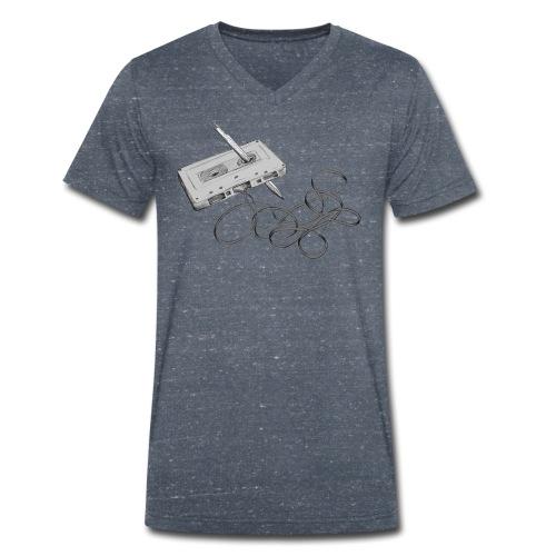 La cassette et son allié - T-shirt bio col V Stanley & Stella Homme