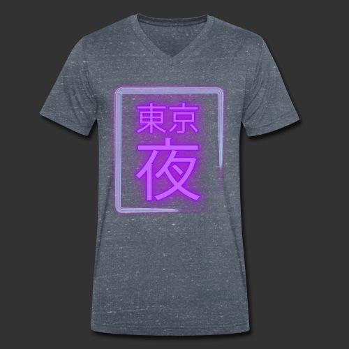 Tokyo Night 東京夜 - T-shirt bio col V Stanley & Stella Homme