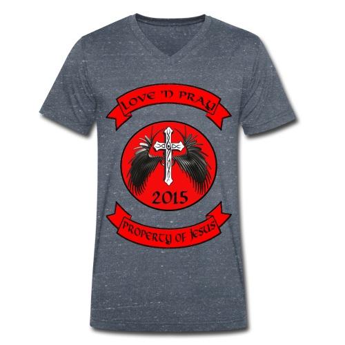 LovenPray - Männer Bio-T-Shirt mit V-Ausschnitt von Stanley & Stella