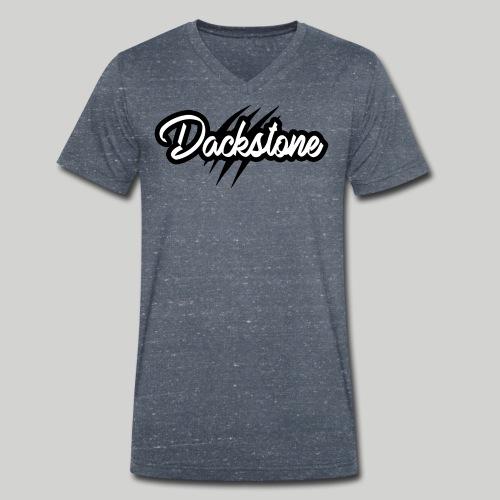 Dackstone - Männer Bio-T-Shirt mit V-Ausschnitt von Stanley & Stella