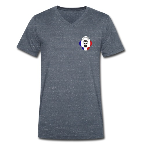 BeardyStyle - T-shirt bio col V Stanley & Stella Homme