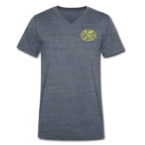SABRO Clean - Økologisk Stanley & Stella T-shirt med V-udskæring til herrer