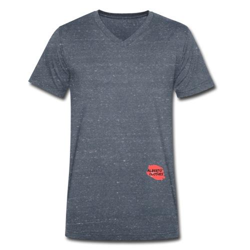 logo - Camiseta ecológica hombre con cuello de pico de Stanley & Stella