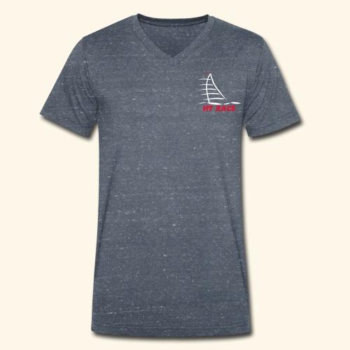 HT LOGO - Mannen bio T-shirt met V-hals van Stanley & Stella