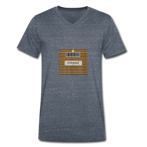 Locked box - Men's Organic V-Neck T-Shirt by Stanley & Stella