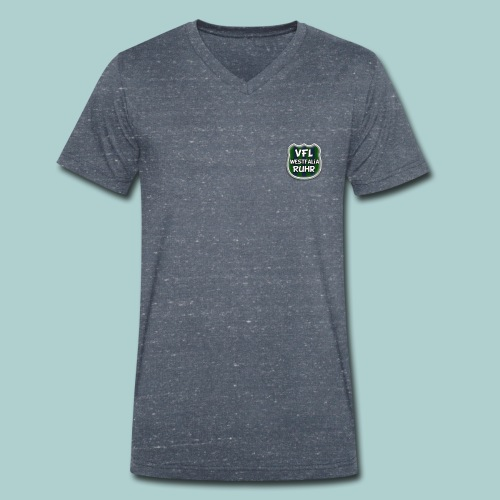 Wappen Westfalia Ruhr freigest quadr - Männer Bio-T-Shirt mit V-Ausschnitt von Stanley & Stella