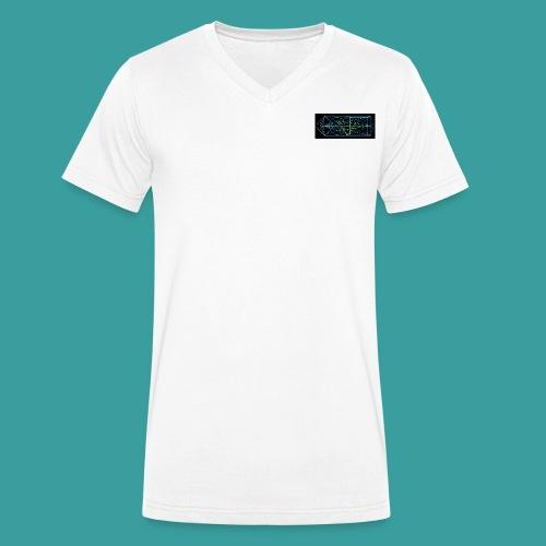 simmetria intelletuale - T-shirt ecologica da uomo con scollo a V di Stanley & Stella