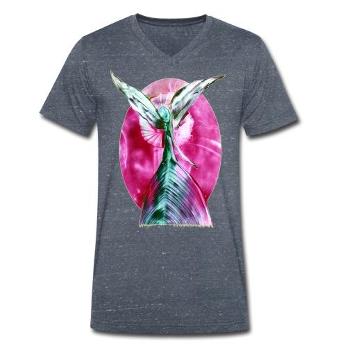 engel der harmonie - Männer Bio-T-Shirt mit V-Ausschnitt von Stanley & Stella