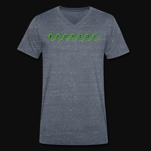 ƒяσηтαℓ (green) - Männer Bio-T-Shirt mit V-Ausschnitt von Stanley & Stella