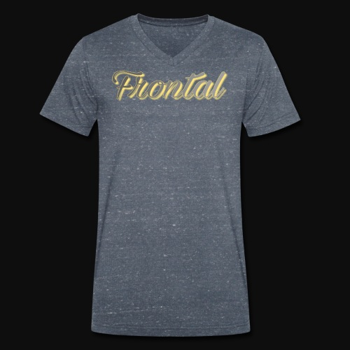 ƒяσηтαℓ (Gold ) - Männer Bio-T-Shirt mit V-Ausschnitt von Stanley & Stella