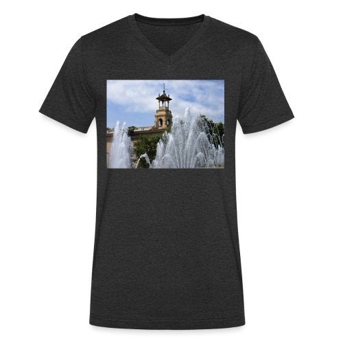 barcelona - T-shirt bio col V Stanley & Stella Homme