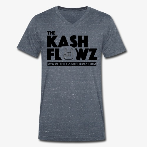 The Kash Flowz Official Web Site Black - T-shirt bio col V Stanley & Stella Homme