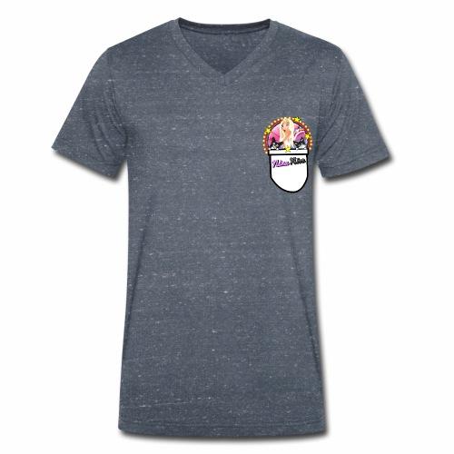 Nina Nice Pocket - Männer Bio-T-Shirt mit V-Ausschnitt von Stanley & Stella