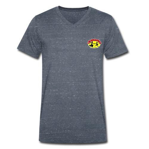 swingapple - T-shirt ecologica da uomo con scollo a V di Stanley & Stella