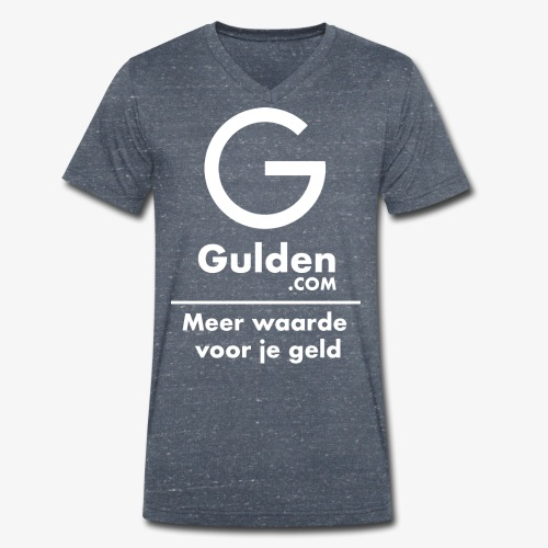 NLG - Gold Cryptocurrency - Early Adopter - Men's Organic V-Neck T-Shirt by Stanley & Stella