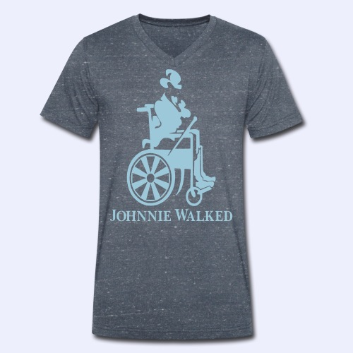 JW - Mannen bio T-shirt met V-hals van Stanley & Stella