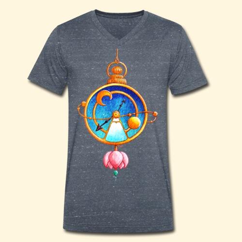 Montre Magique - T-shirt bio col V Stanley & Stella Homme