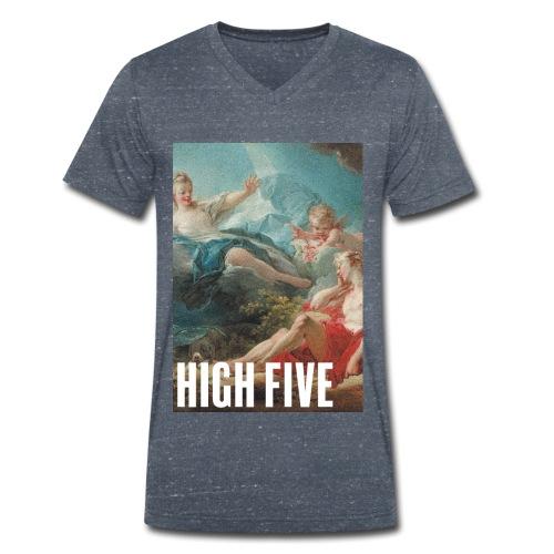 High Five - T-shirt bio col V Stanley & Stella Homme