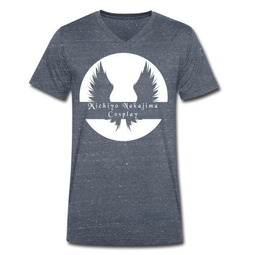 MNC Logo [No Phrase] - Men's Organic V-Neck T-Shirt by Stanley & Stella