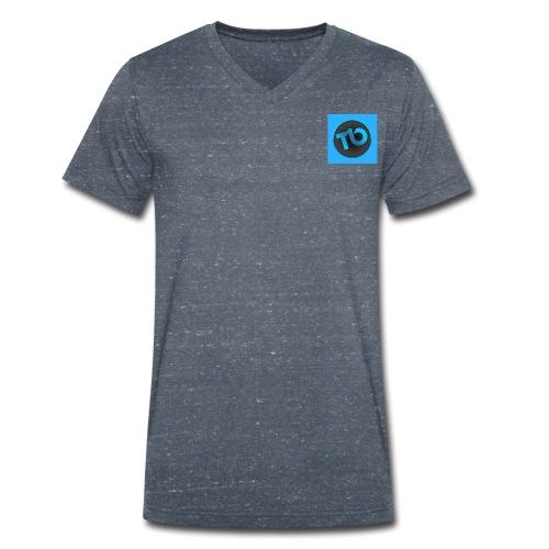 tb - Mannen bio T-shirt met V-hals van Stanley & Stella