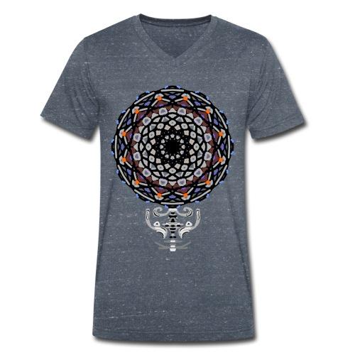 mandala funny - T-shirt ecologica da uomo con scollo a V di Stanley & Stella