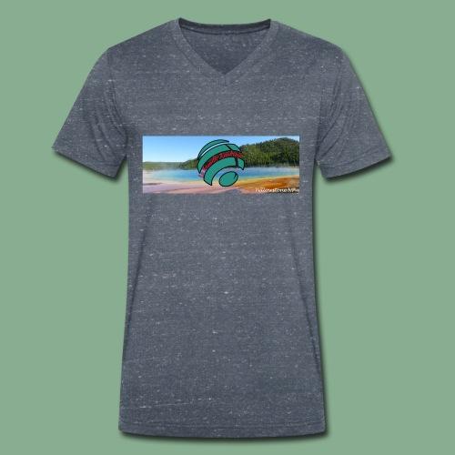Yellowstone - Grand Prismatic - T-shirt bio col V Stanley & Stella Homme