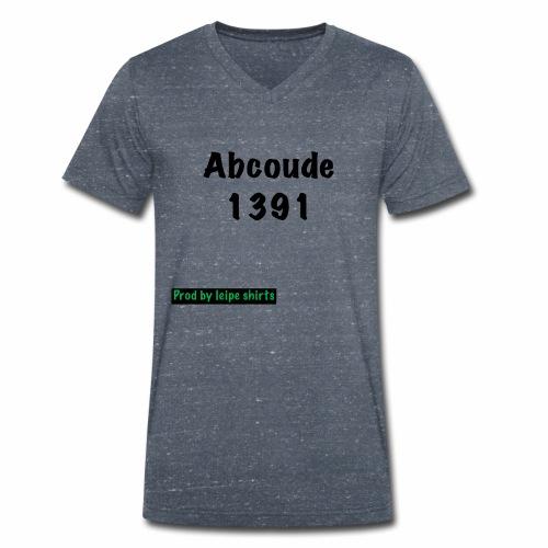 Abcoude post code merk - Mannen bio T-shirt met V-hals van Stanley & Stella