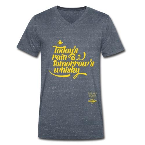 Today s Rain - Men's Organic V-Neck T-Shirt by Stanley & Stella
