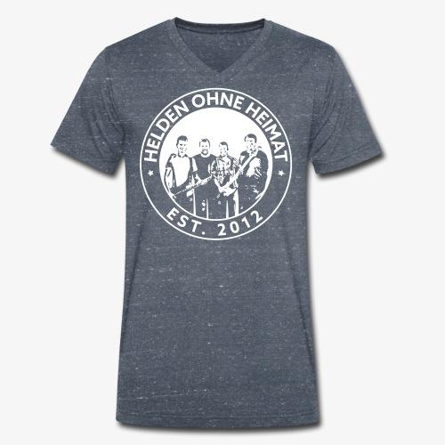 Helden Ohne Heimat Emblem - Männer Bio-T-Shirt mit V-Ausschnitt von Stanley & Stella