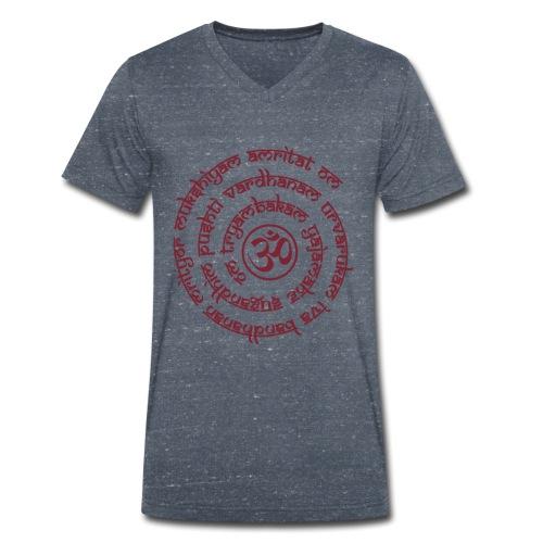 Tryambakam Mantra das Mantra zur Befreiung - Männer Bio-T-Shirt mit V-Ausschnitt von Stanley & Stella