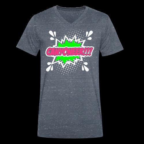 Canyoneer!!! - Männer Bio-T-Shirt mit V-Ausschnitt von Stanley & Stella