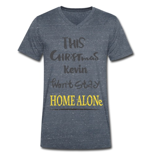 Kevin McCallister Home Alone - Ekologiczna koszulka męska z dekoltem w serek Stanley & Stella