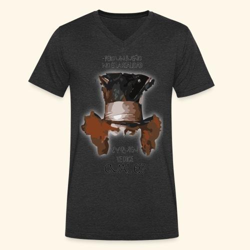 CUAL ES - Camiseta ecológica hombre con cuello de pico de Stanley & Stella