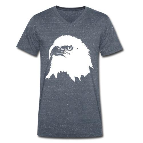 Steinadler - Männer Bio-T-Shirt mit V-Ausschnitt von Stanley & Stella