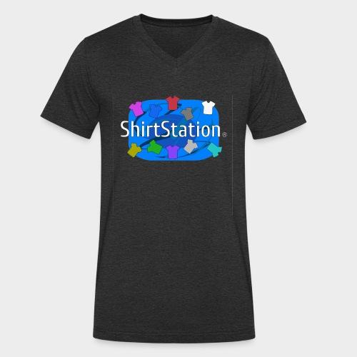 ShirtStation - Men's Organic V-Neck T-Shirt by Stanley & Stella