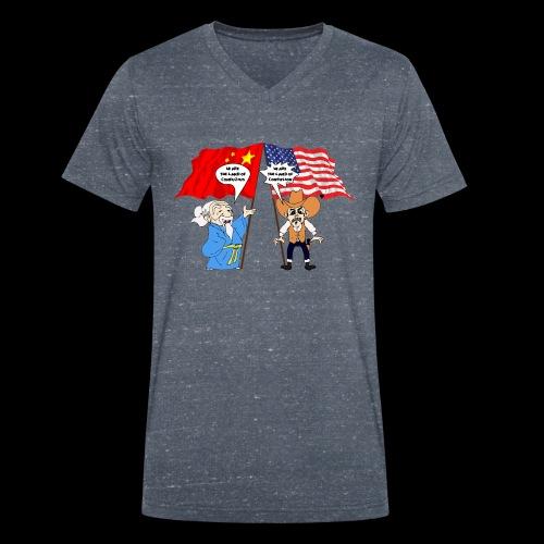 konfuzz - Männer Bio-T-Shirt mit V-Ausschnitt von Stanley & Stella