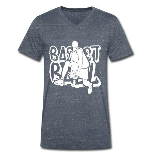BASKETBALL TAG H - T-shirt bio col V Stanley & Stella Homme