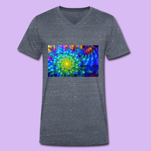 Astratto luminoso - T-shirt ecologica da uomo con scollo a V di Stanley & Stella