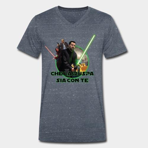 Che la Ruspa sia con Te - T-shirt ecologica da uomo con scollo a V di Stanley & Stella