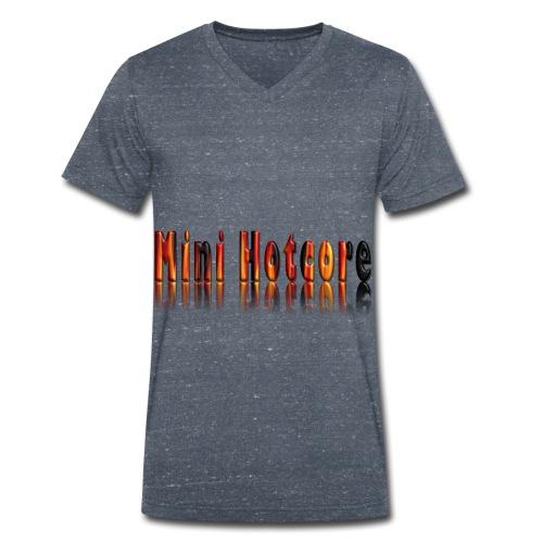 Feuriges 3D - Männer Bio-T-Shirt mit V-Ausschnitt von Stanley & Stella