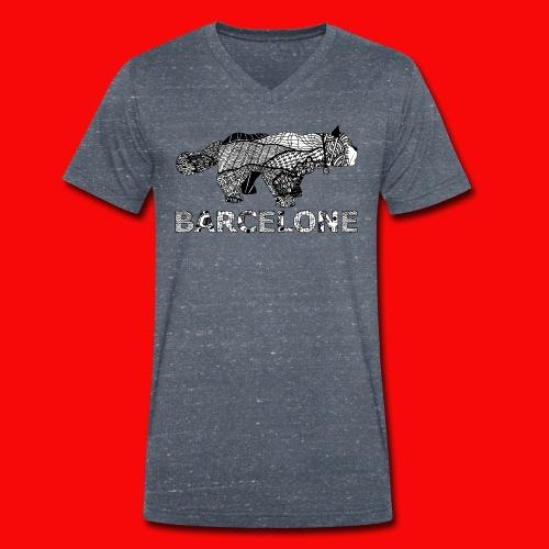 LOGO CAT RAVAL - T-shirt bio col V Stanley & Stella Homme