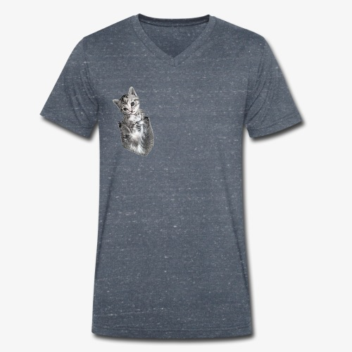 Lascar - Men's Organic V-Neck T-Shirt by Stanley & Stella