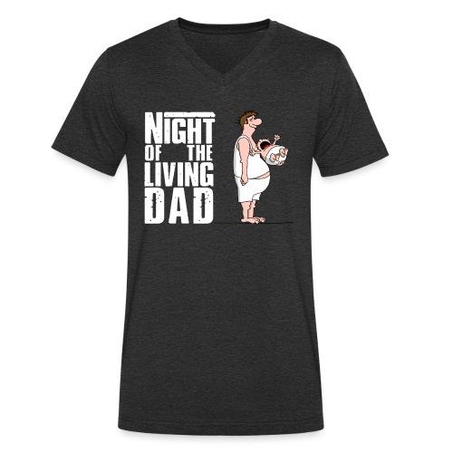 bester Papa - Superdad - Daddy of the year - Männer Bio-T-Shirt mit V-Ausschnitt von Stanley & Stella