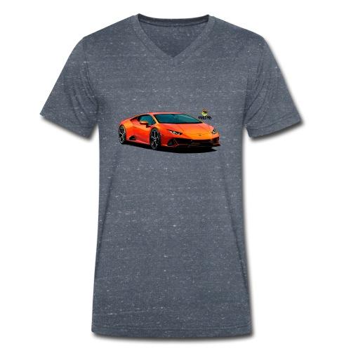 Luxurious car - Men's Organic V-Neck T-Shirt by Stanley & Stella