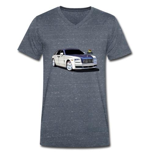 Luxury car - Men's Organic V-Neck T-Shirt by Stanley & Stella