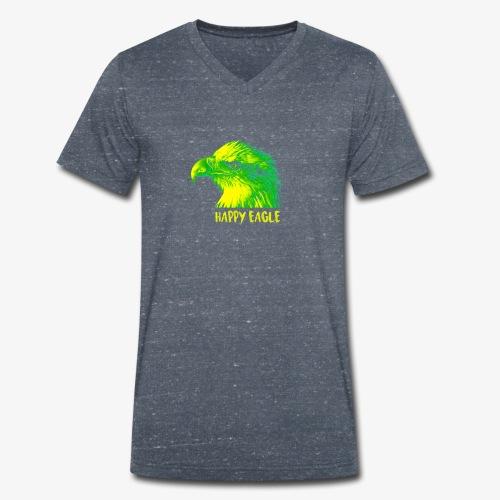 happy eagle - T-shirt bio col V Stanley & Stella Homme