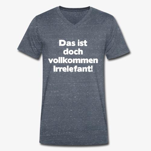 Der Irrelefant - Männer Bio-T-Shirt mit V-Ausschnitt von Stanley & Stella