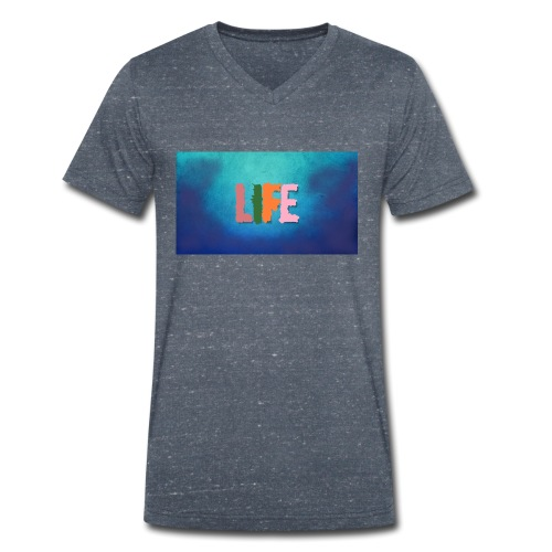 Life - Männer Bio-T-Shirt mit V-Ausschnitt von Stanley & Stella
