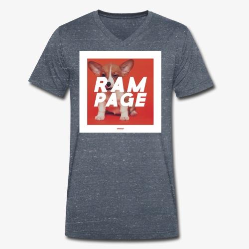 RAMPAGE #01 - Männer Bio-T-Shirt mit V-Ausschnitt von Stanley & Stella