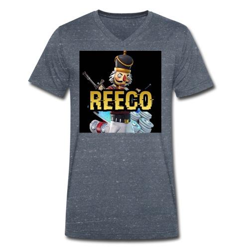 ReecoArmy - Männer Bio-T-Shirt mit V-Ausschnitt von Stanley & Stella